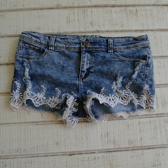 Hot Kiss Pants - Hot Kiss Cici Cutoffs Shorts